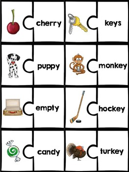 Phonics Puzzles: long vowels