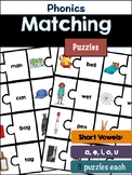 Phonics Puzzles: short vowels