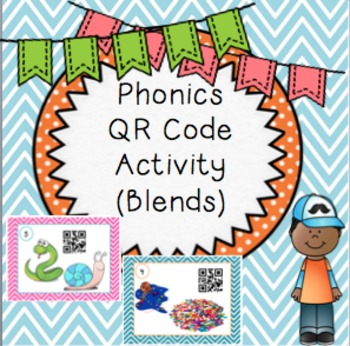 Phonics QR Code Activity (Blends)