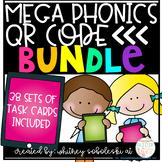 Phonics QR Code MEGA Bundle: Includes 38 Sets of Task Cards!