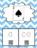 Phonics QR Code Task Cards - Long Vowels (Long a CVCe) **F