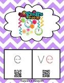 Phonics QR Code Task Cards - Long Vowels (Long e CVCe)