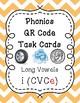 Phonics QR Code Task Cards - Long Vowels (Long i CVCe)
