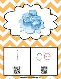 Phonics QR Code Task Cards - Long Vowels (Long i CVCe) **F