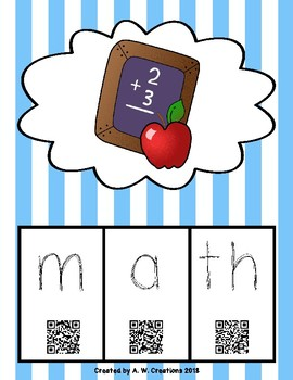 Phonics QR Code Task Cards - Short Vowels (Short a) **FREEBIE**