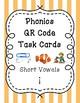 Phonics QR Code Task Cards - Short Vowels (Short i)