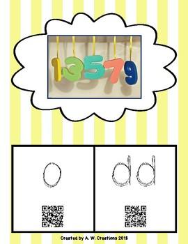 Phonics QR Code Task Cards - Short Vowels (Short o) **FREEBIE**