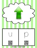 Phonics QR Code Task Cards - Short Vowels (Short u)