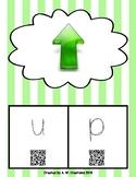 Phonics QR Code Task Cards - Short Vowels (Short u) **FREEBIE**