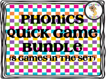 Phonics Quick Games Bundle