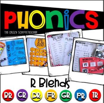 Phonics R Blends
