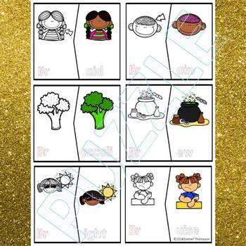 "Phonics ""R Blends"" (Puzzle Cards)"