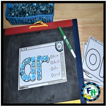 Phonics R-Controlled Vowel Fill-It-In Mats