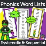 Phonics Word Lists with R-Controlled Vowel Patterns Superh
