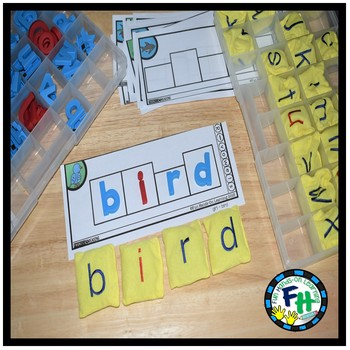 Phonics R-Controlled Vowels Build-It Strips