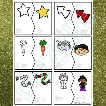 """Phonics """"R-Controlled Vowels"""" (Puzzle Cards)"""