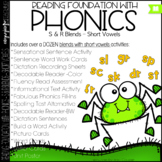 Phonics - R & S blends with short vowels - Reading Foundat