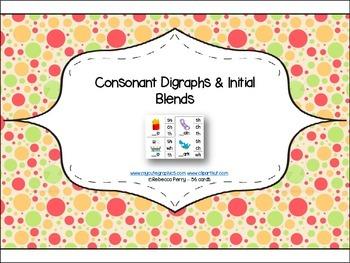 Phonics Read & Clip – Consonant / Initial Blends – Fine Motor Skills (56 cards)
