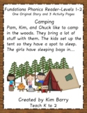 Phonics Reader - Level 1:  Camping