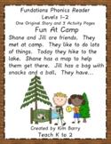 Phonics Reader - Level 1: Fun at Camp
