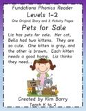Phonics Reader - Level 1:  Pets for Sale