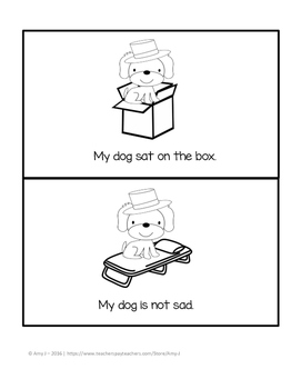 Phonics Reader My Dog FREEBIE