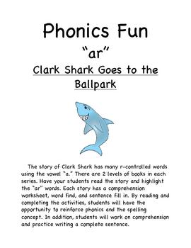 "Phonics Reader ""ar"" words"