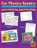 Phonics Readers: Blends & Digraphs Reproducible Emergent R