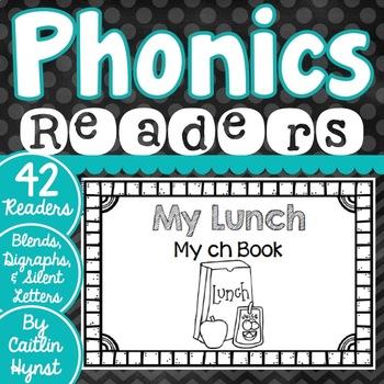 Phonics Readers - Blends, Digraphs, Silent Letters