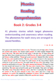 Phonics Reading Comprehension Book 2 Grades 3-4