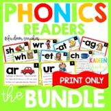 Phonics Readers Bundle Distance Learning