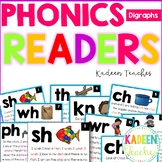 Phonics Readers-Digraphs Distance Learning