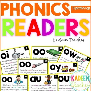 Phonics Readers-Diphthongs