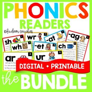 Phonics Readers-Growing Bundle