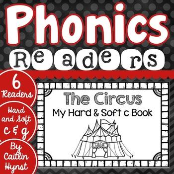 Phonics Readers - Hard and Soft C & G