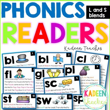 Phonics Readers-L and S blends