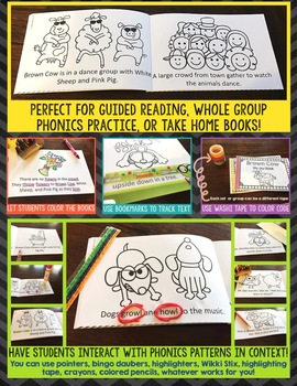 Phonics Readers - R Controlled Vowels