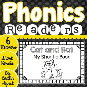 Phonics Readers - Short Vowels
