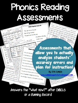 Phonics Reading Assessments