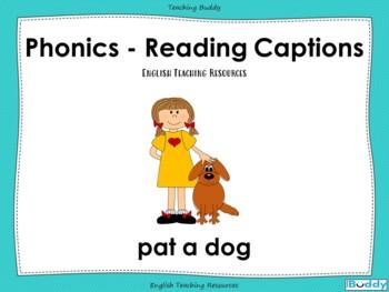Phonics - Reading Captions
