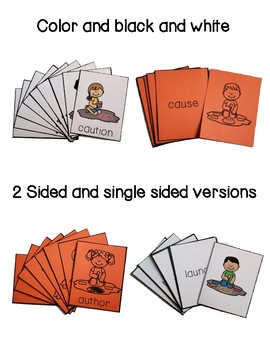 Phonics Reading Card Game -aw, -au, -al, -all