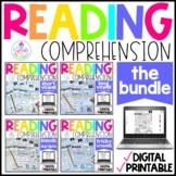 Phonics Reading Comprehension GROWING BUNDLE | Distance Le