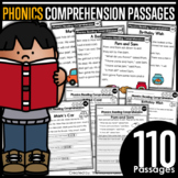 Phonics Reading Comprehension Passages