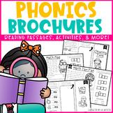 Phonics Brochures/Reading Passages Comprehension Bundle -