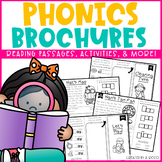 Phonics Brochures/Reading Passages Comprehension Bundle