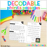 Phonics Reading Passages and Lesson Plans R Controlled Vow