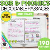 2nd Grade Phonics Reading Passages | Phonics Mats Bundle |