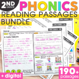 2nd Grade Phonics Reading Passages and Questions | Phonics