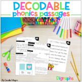 Phonics Reading Passages and Lesson Plans Digraphs Decodab
