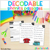Phonics Reading Passages and Lesson Plans Glued Welded Sou